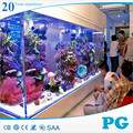 PG Imported Lucite Custom Clear Acrylic Fish Tank