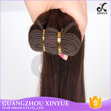 Cheap brazilian human hair wet and wavy weave straight human hair bulk for woman