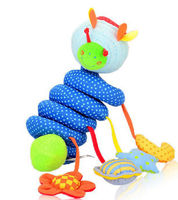 Hot Sale Baby plush worm toy