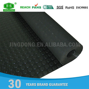 Factory customed cheap fireproof waterproof neoprene 3m rubber floor mat