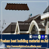 popular roofing system ,shingle roof ,coating material metal roof tile sheet