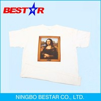 promotional T shirt in OEM design for men and women