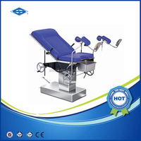 HFMPB06B CE mark labor and obstetric delivery bed / aluminum extension table