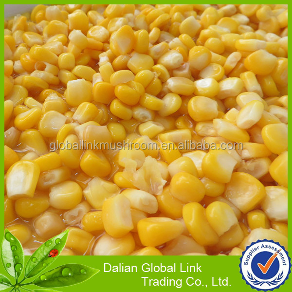 Chinese fresh canned sweet corn