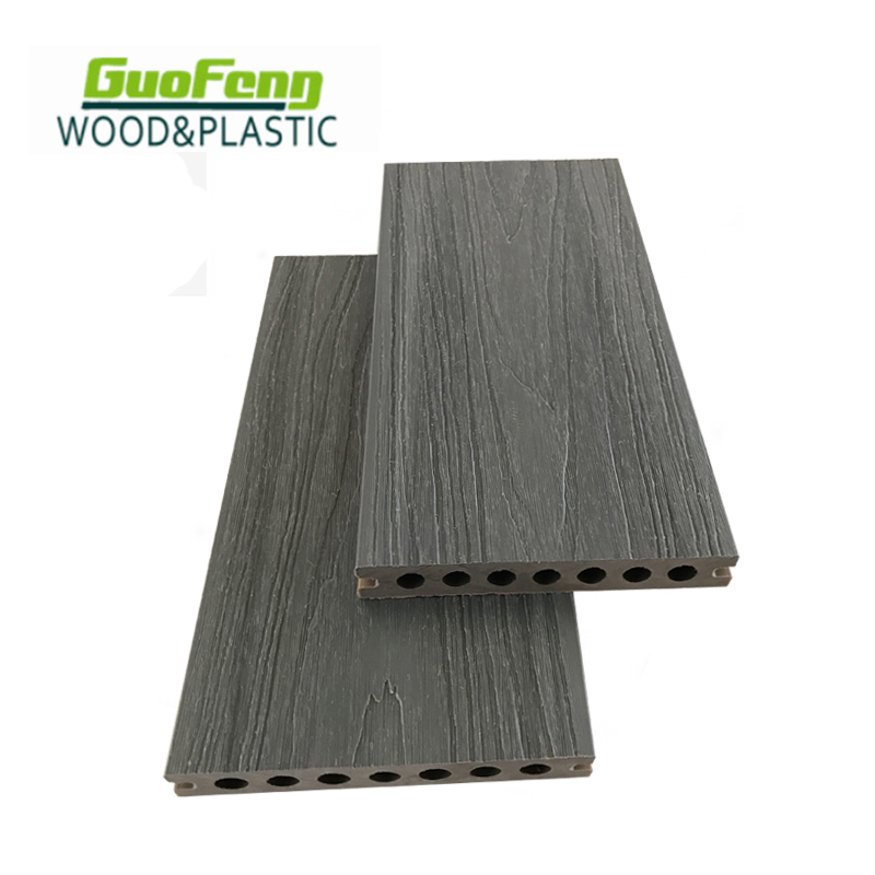 Durable Anti Uv Wpc Decking Wood Plastic Composite Boards Outdoor Waterproof Wpc Flooring