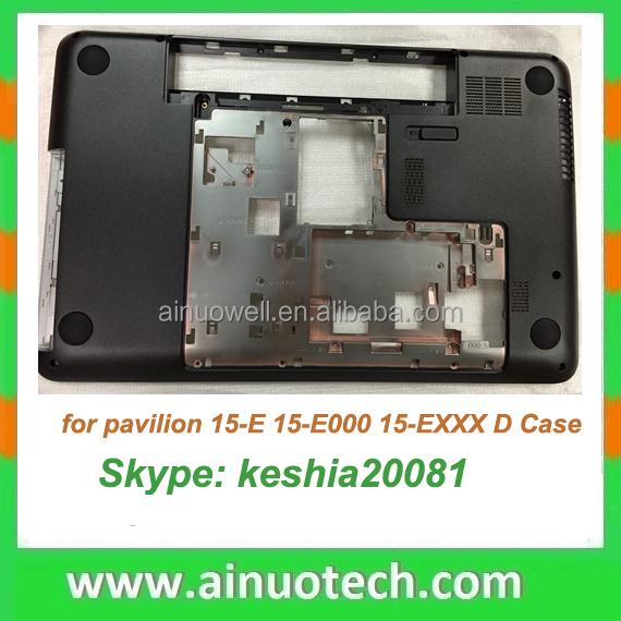 original new replacement parts laptop body shell for HP 15-E 15-E000 bottom case D shell top cover screen frame LCD back panel
