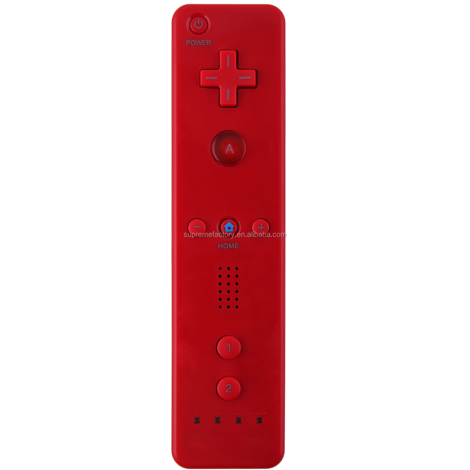 For Wii/ Wii U Red Wireless Remote Plus Controller