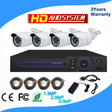 cctv camera in dubai cheap price high quality 3mp night vision infrared underwater cctv camera 4ch dvr kit