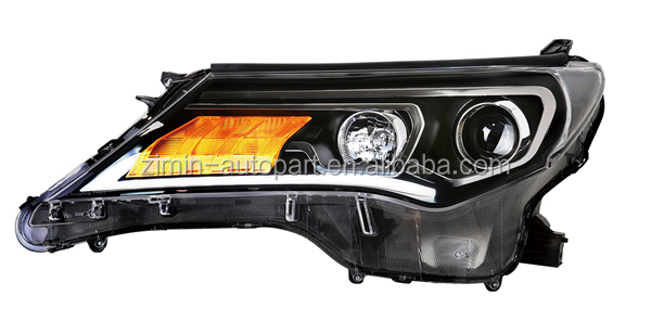 accesorios toyota rav4 Led Head Lamp for TOYOTA RAV4 2013