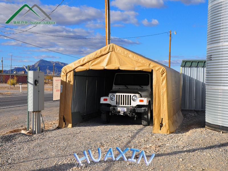 Personnalis pvc enduit m tal carport abri de voiture for Tente garage auto