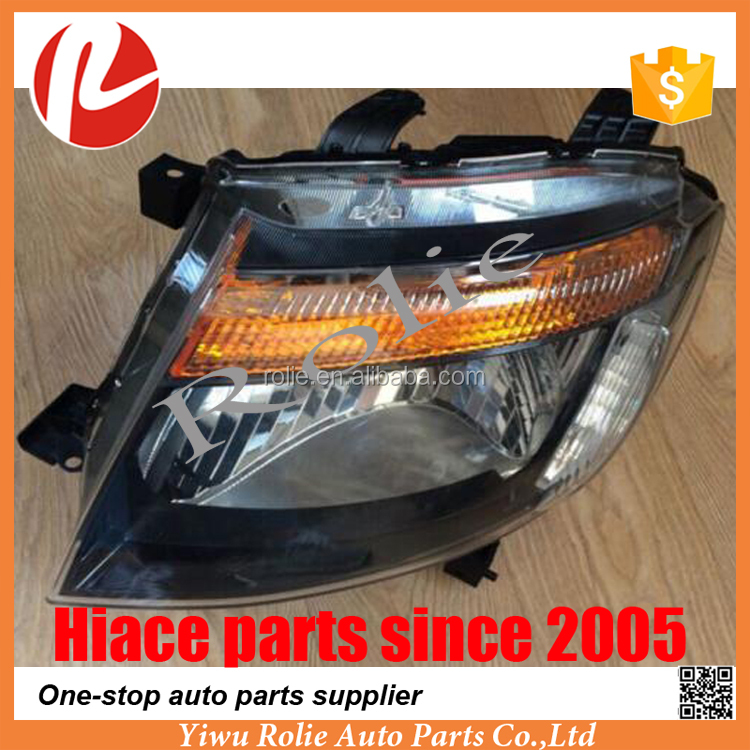 American cars PICK UP Ranger 2011 2012 black headlights auto parts