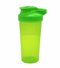 Plastic Mixer Protein Shaker Bottle with lid 700ml