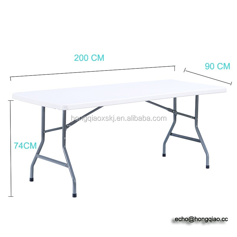 Solid Top HDPE plastic tables and chairs,hot sale <strong>light</strong> weight easy carry plastic folding table