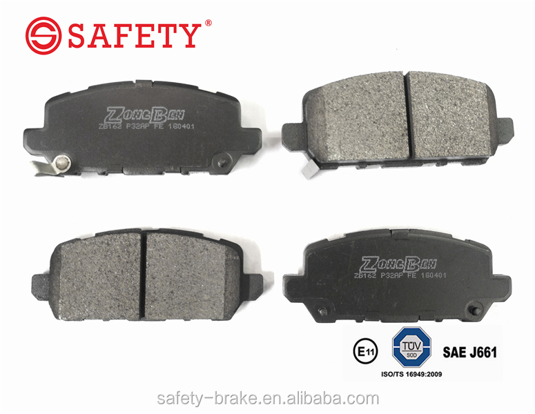 China Wholesale Factory Auto Spare Parts Brake Pad OEM 43022-T2J-H00 For HONDA Vezel