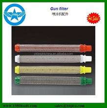 airless paint sprayer gun filter 30/60/100/150 meshes suction filter manifold filter