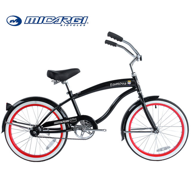Micargi 20 inch beach cruiser bike FAMOUS single speed children bicycle