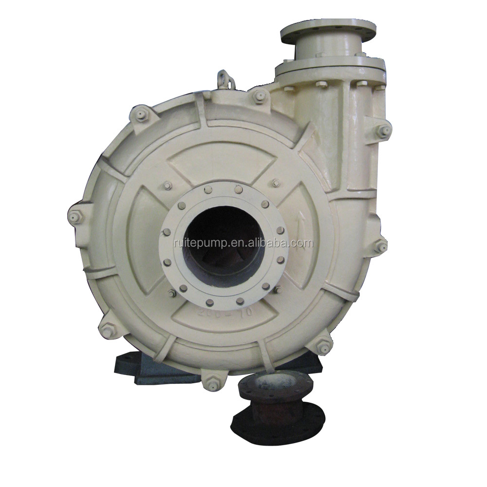 Wet End Parts Natural rubber hot selling solid Slurry Pump