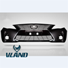 VLAND factory for car bumper for Corolla bumper for 2010 with light bar and middle grille for Corolla Front bumper