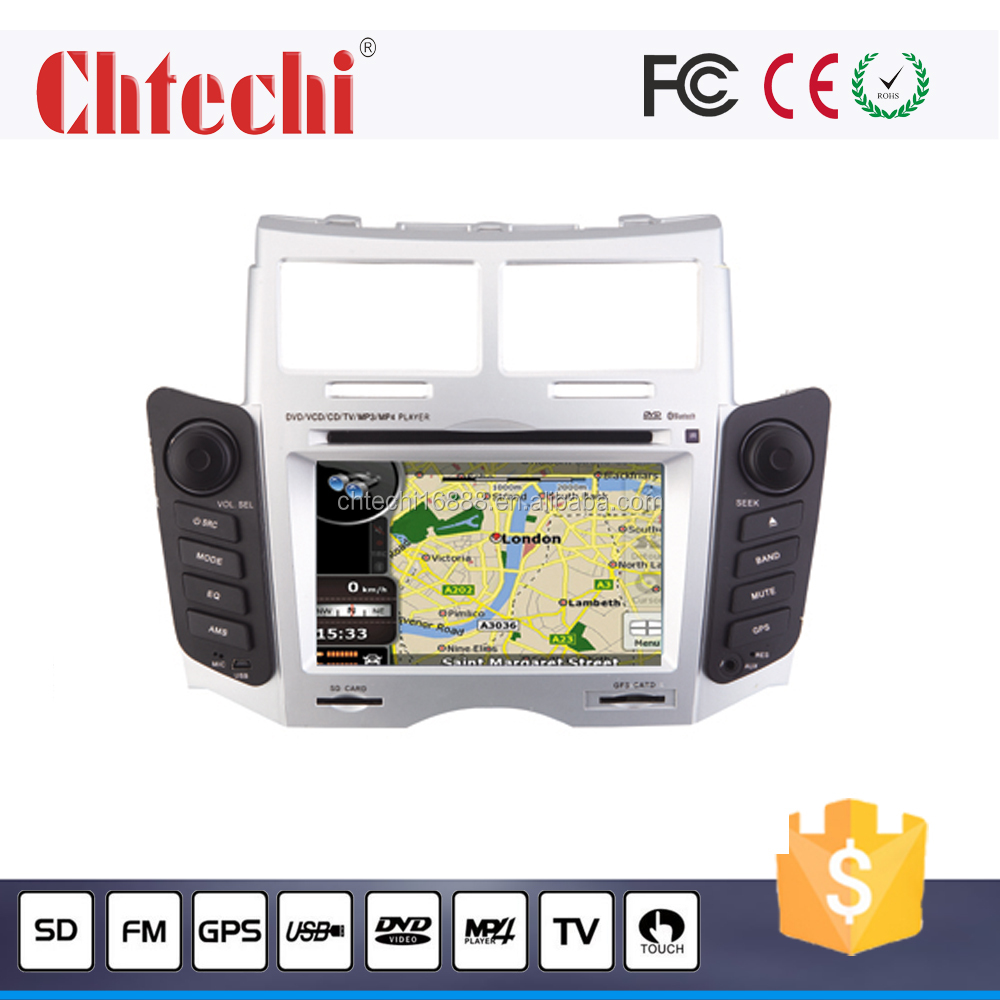 Car DVD Player for Toyota Yaris 6.2 inch With TV/Bluetooth/AM/FM/Android 4.4.4/ Wince 6.0 system