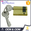 Hot sale and high quality brass best cylinder lock , european door lock cylinder