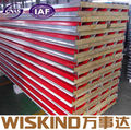 rock wool sandwich panel of steel structure