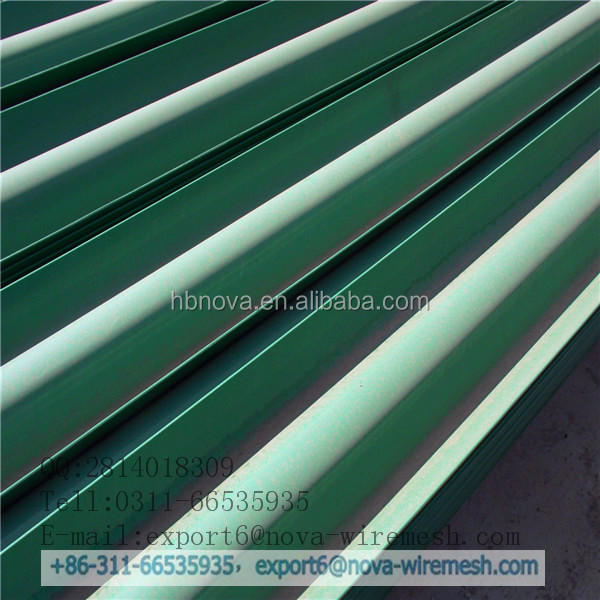 Practical & profitable power coated guardrail for decoration