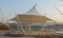 PTFE Coated High Tension Heat Resistent Waterproof Breathable Architectural Membrane