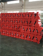 New type plastic road barrier road safety products