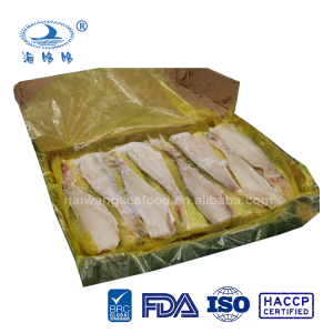 Frozen red gurnard fillets skin on/off frozen food seafood