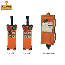 AC /DC F21-4S/4D 65V~440V universal wireless industrial remote control for construction hoist usage