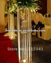 high quality crystal wedding aisle decor centerpieces for weddings ,big event decoration