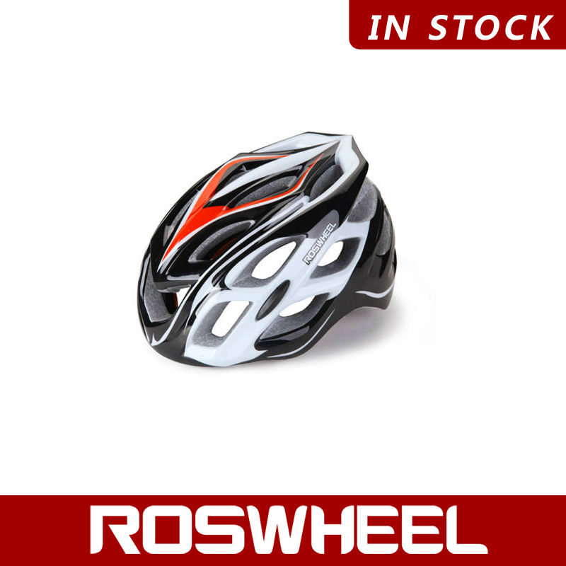 [91418] ROSWHEEL Wholesale Bicycle In-Mold Helmet With LED Lights