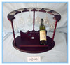 titular botellero vino vino estante bamboo wine rack bottle holder wine handsaw for wood