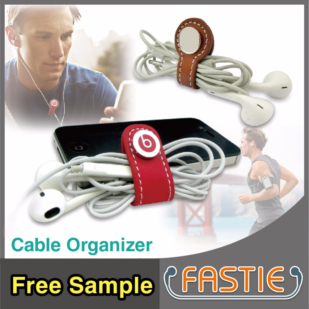 FASTIE_China Maker white mini cable earphone card/wire winder