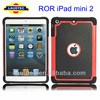 Case for iPad mini 2 ii, 2 in 1 Silicon Hard Case for Apple iPad mini ii 2