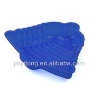 100% food grade eco-friendly silicone train cake pan