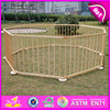 2017 Top sale folding kids play wooden safety yard baby pen W08H006-S