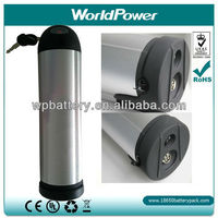 Manufacturer~ 36V 11.6Ah Water Bottle style Lithium ion battery pack for ebike/electric bike