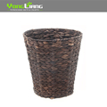 Wholesale Natural Materials Water Hyacinth Round Shape Storage Basket