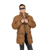 2015 New Long Mens Fashion Winter Coats Manufacturer
