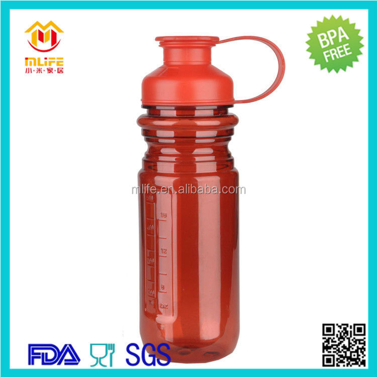 OEM leisure recycled gift 600ml plastic water bottle