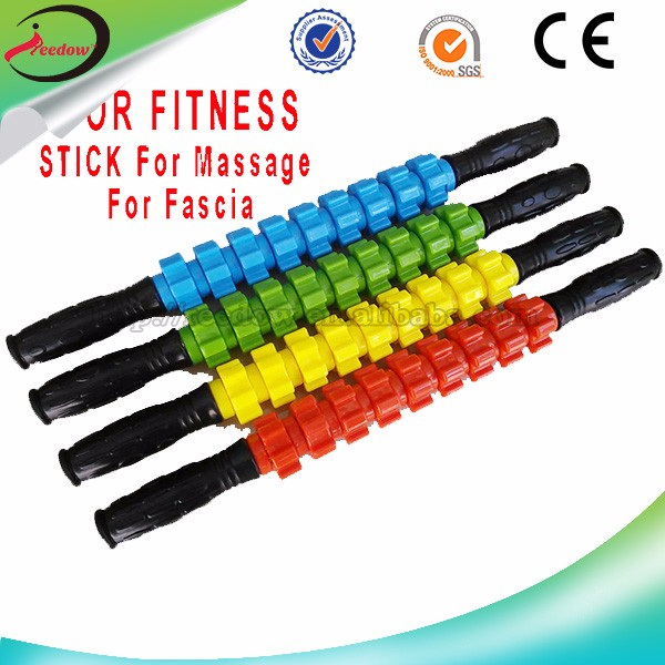 Reedow Brand 9 Gear muscle foam custom muscle roller stick yoga self <strong>massage</strong>