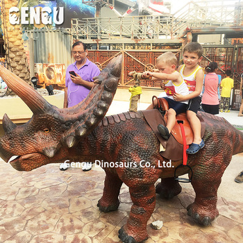 Buy Dinosaur Ride Amusement Rides Robotic Dinosaur