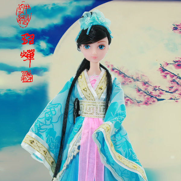11.5 inch Chinese ancient beauty doll kit