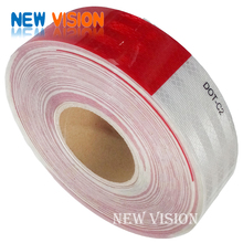 New products 3M diamond grade dot-c2 red and white reflective tape for vehicles