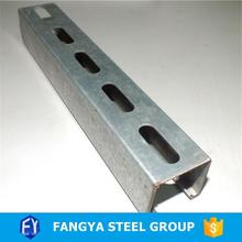 steel c section!c unistrut channel sizes
