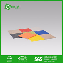 Various shapes solo square acoustic panels for meeting room