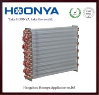 Hoonya supply fin tube condenser and evaporator for air conditioner