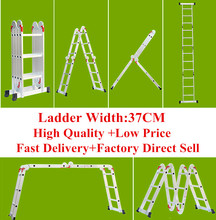 Augest hot sell lightweight multifunction aluminium folding ladder
