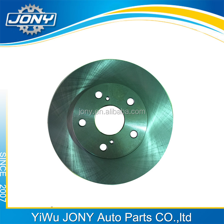 Cars spare parts front brake disc for TOYOTA COROLLA 43512-02220